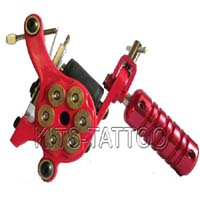 Red Tattoo Machine